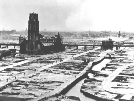 Destruction of Rotterdam